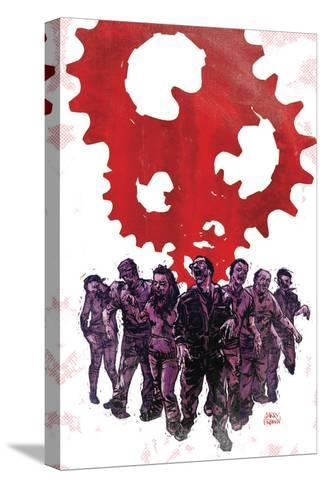 Zombies vs. Robots: Undercity - Cover Art-Garry Brown-Stretched Canvas Print