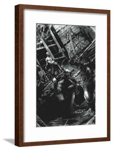 Zombies vs. Robots: No. 9 - Full-Page Art-Fabio Listrani-Framed Art Print