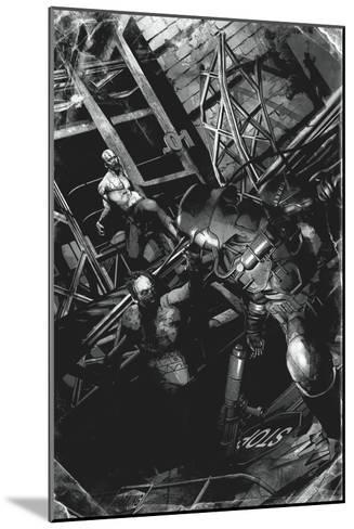 Zombies vs. Robots: No. 9 - Full-Page Art-Fabio Listrani-Mounted Art Print