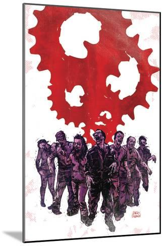 Zombies vs. Robots: Undercity - Cover Art-Garry Brown-Mounted Art Print