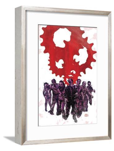 Zombies vs. Robots: Undercity - Cover Art-Garry Brown-Framed Art Print