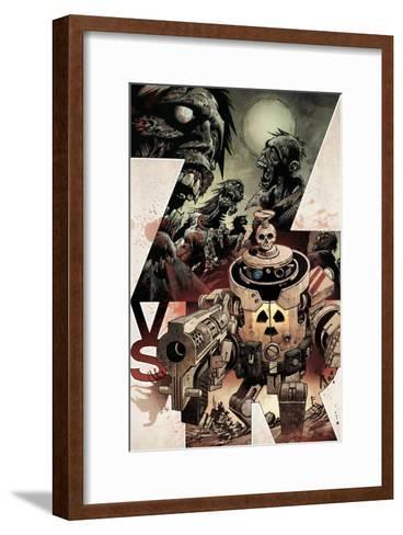 Zombies vs. Robots: Volume 1 - Cover Art-Gabriel Rodriguez-Framed Art Print