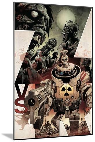 Zombies vs. Robots: Volume 1 - Cover Art-Gabriel Rodriguez-Mounted Art Print
