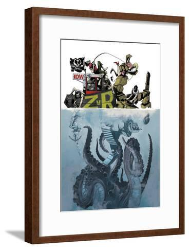 Zombies vs. Robots: Volume 1 - Cover Art-Mark Torres-Framed Art Print