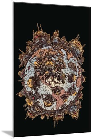 Zombies vs. Robots: Volume 1 - Cover Art-James Stokoe-Mounted Art Print