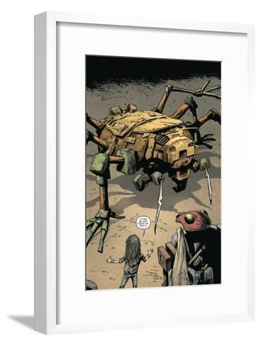 Zombies vs. Robots: Volume 1 - Full-Page Art-Val Mayerik-Framed Art Print