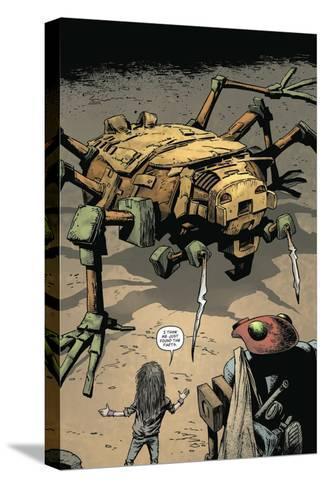Zombies vs. Robots: Volume 1 - Full-Page Art-Val Mayerik-Stretched Canvas Print