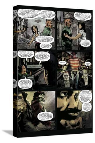 Zombies vs. Robots: Undercity - Comic Page with Panels-Mark Torres-Stretched Canvas Print