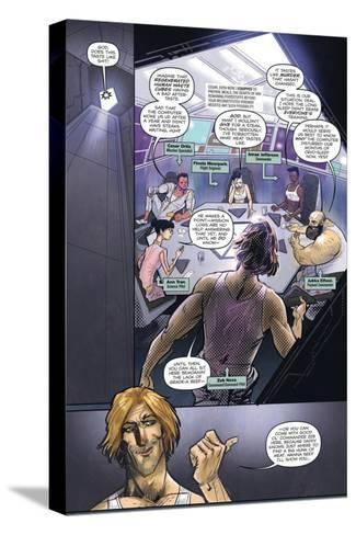 Zombies vs. Robots: Volume 1 - Comic Page with Panels-Anthony Diecidue-Stretched Canvas Print