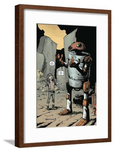 Zombies vs. Robots: Volume 1 - Full-Page Art-Val Mayerik-Framed Art Print