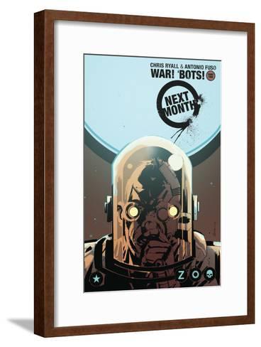 Zombies vs. Robots: No. 8 - Bonus Material-Antonio Fuso-Framed Art Print