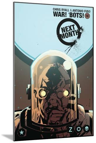 Zombies vs. Robots: No. 8 - Bonus Material-Antonio Fuso-Mounted Art Print