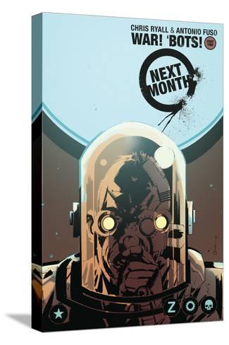 Zombies vs. Robots: No. 8 - Bonus Material-Antonio Fuso-Stretched Canvas Print