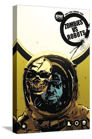 Zombies vs. Robots: No. 8 - Cover Art-Antonio Fuso-Stretched Canvas Print