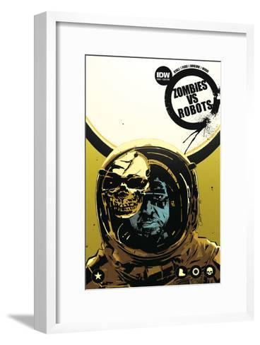 Zombies vs. Robots: No. 8 - Cover Art-Antonio Fuso-Framed Art Print