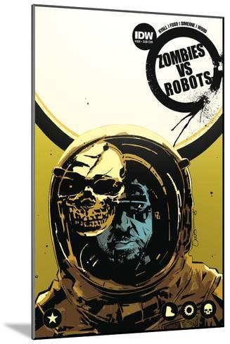 Zombies vs. Robots: No. 8 - Cover Art-Antonio Fuso-Mounted Art Print