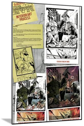 Zombies vs. Robots: Undercity - Bonus Material-Mark Torres-Mounted Art Print