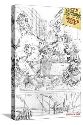 Zombies vs. Robots: Undercity - Bonus Material-Mark Torres-Stretched Canvas Print