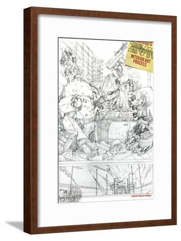 Zombies vs. Robots: Undercity - Bonus Material-Mark Torres-Framed Art Print