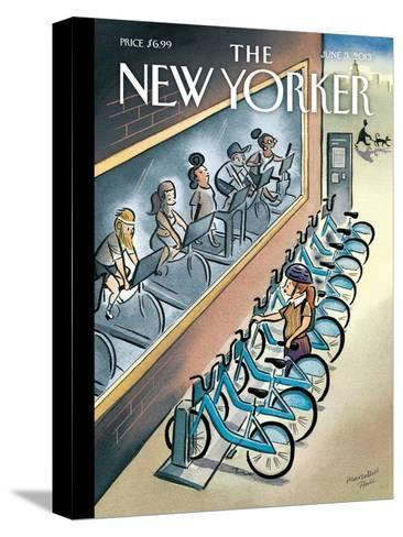 The New Yorker Cover - June 3, 2013-Marcellus Hall-Stretched Canvas Print
