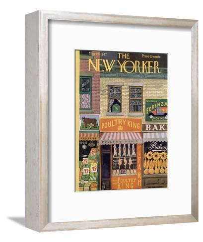 The New Yorker Cover - May 24, 1947-Witold Gordon-Framed Art Print