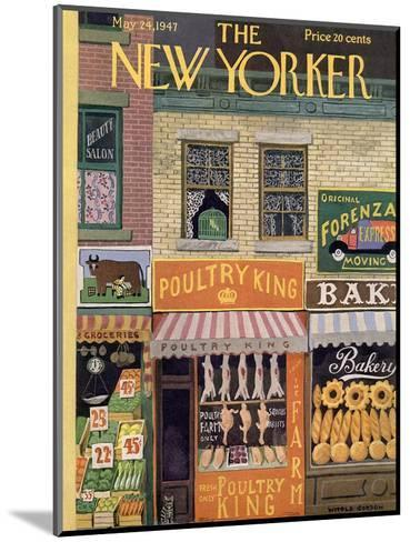 The New Yorker Cover - May 24, 1947-Witold Gordon-Mounted Premium Giclee Print