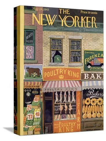 The New Yorker Cover - May 24, 1947-Witold Gordon-Stretched Canvas Print