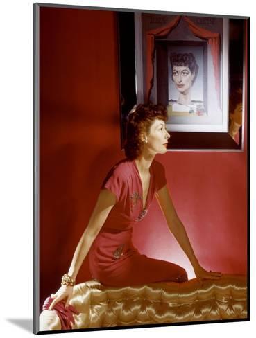 Vogue - September 1943-Horst P. Horst-Mounted Premium Photographic Print