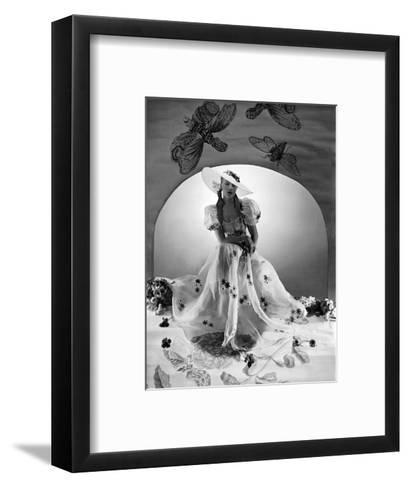 Vogue - April 1938-Horst P. Horst-Framed Art Print