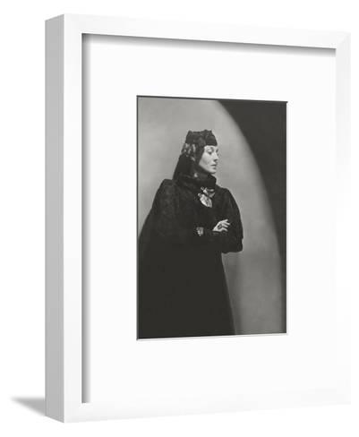 Vogue - January 1936-Horst P. Horst-Framed Art Print