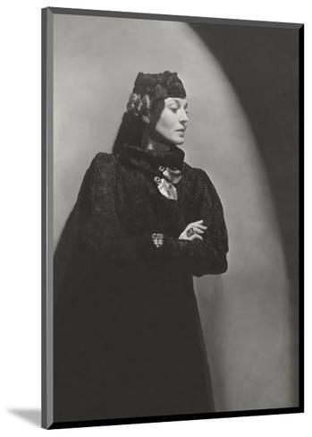 Vogue - January 1936-Horst P. Horst-Mounted Premium Photographic Print