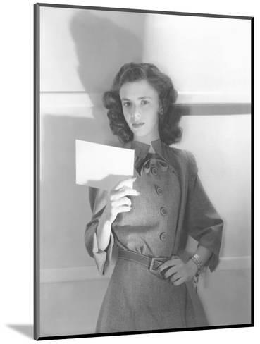 Vogue - July 1944-Horst P. Horst-Mounted Premium Photographic Print