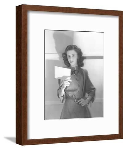 Vogue - July 1944-Horst P. Horst-Framed Art Print