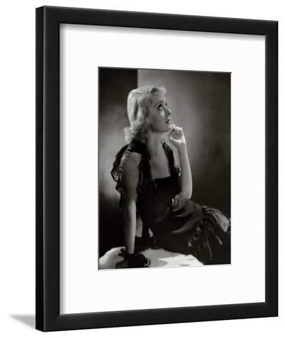 Vanity Fair - November 1932-Horst P. Horst-Framed Art Print