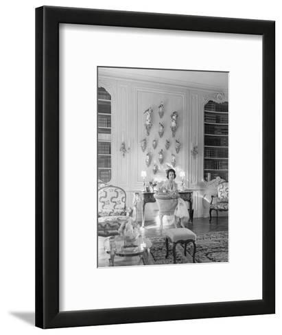 Vogue - August 1956-Horst P. Horst-Framed Art Print