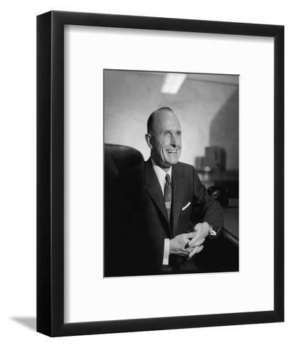 Vogue - February 1957-Horst P. Horst-Framed Art Print