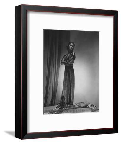 Vogue - October 1935-Horst P. Horst-Framed Art Print