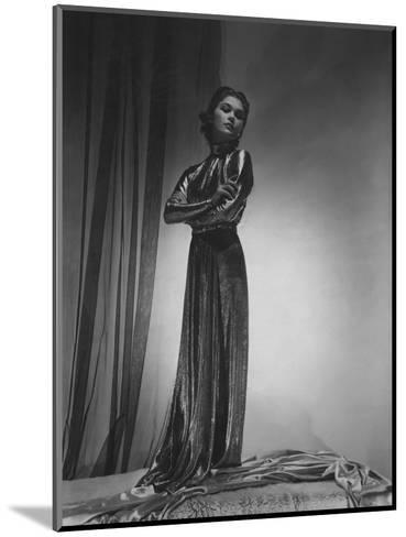 Vogue - October 1935-Horst P. Horst-Mounted Premium Photographic Print