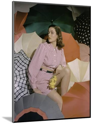 Vogue - May 1940-Horst P. Horst-Mounted Premium Photographic Print