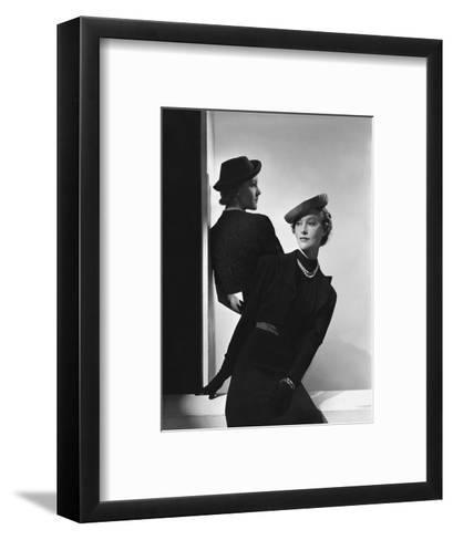 Vogue - January 1938-Horst P. Horst-Framed Art Print