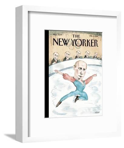 Jury of His Peers - The New Yorker Cover, February 3, 2014-Barry Blitt-Framed Art Print