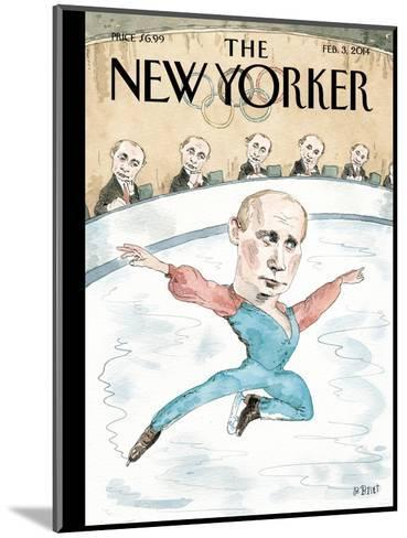 Jury of His Peers - The New Yorker Cover, February 3, 2014-Barry Blitt-Mounted Premium Giclee Print
