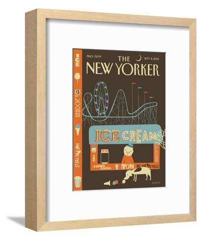 13 Flavors - The New Yorker Cover, September 2, 2013-Frank Viva-Framed Art Print