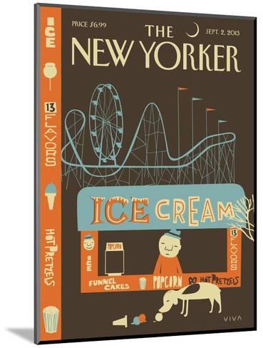 13 Flavors - The New Yorker Cover, September 2, 2013-Frank Viva-Mounted Premium Giclee Print