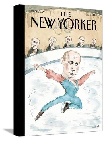 Jury of His Peers - The New Yorker Cover, February 3, 2014-Barry Blitt-Stretched Canvas Print