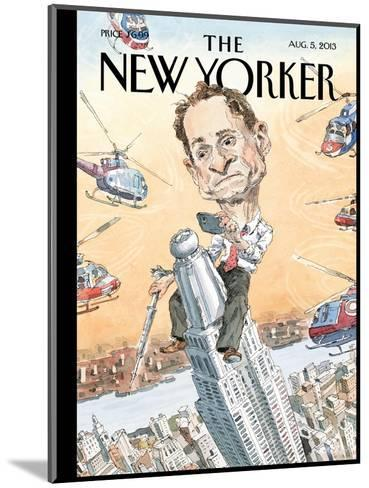 Carlos Danger - The New Yorker Cover, August 5, 2013-John Cuneo-Mounted Premium Giclee Print