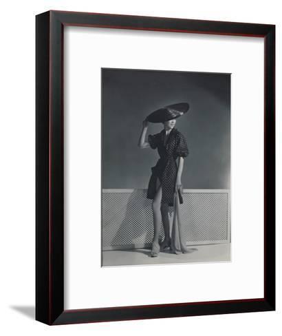 Vogue - July 1935-Horst P. Horst-Framed Art Print