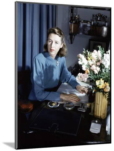 Vogue - September 1942-Horst P. Horst-Mounted Premium Photographic Print
