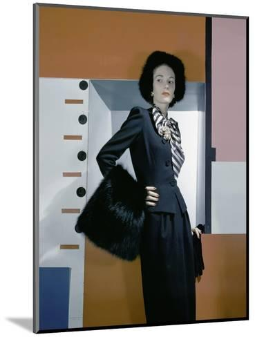 Vogue - October 1942-Horst P. Horst-Mounted Premium Photographic Print