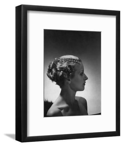Vogue - September 1934-Horst P. Horst-Framed Art Print